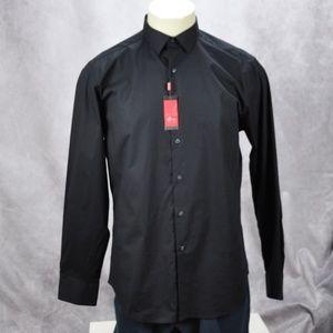 Alfani Slim Fit Stretch Button Down Shirt